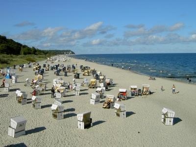 Usedom - Strand von Heringsdorf