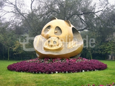 China - Chengdu - Panda-Aufzuchtstation
