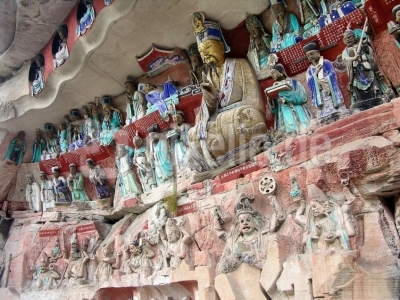 China - Dazu - Buddhistische Grotten 2