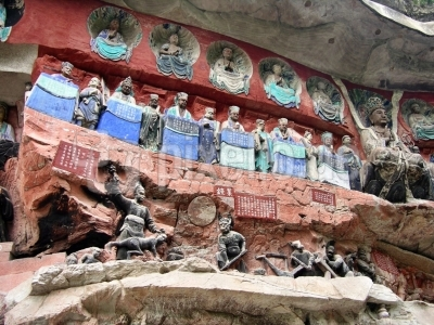 China - Dazu - Buddhistische Grotten 3
