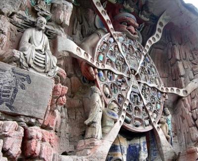 China - Dazu - Buddhistische Grotten 4