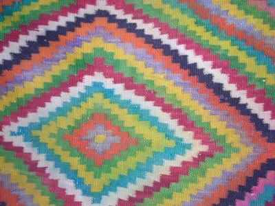 Marokkanisches Teppichmuster (Detail)