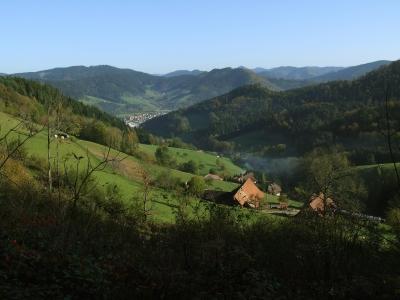 Mittlerer Schwarzwald bei Hausach im Kinzigtal