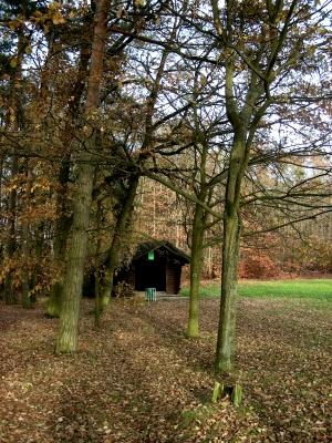 Schutzhütte am Dechsendorfer Weiher