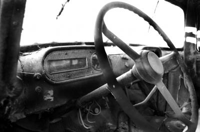 Cockpit LKW Oldtimer