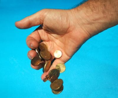 Die Münzen sind gefallen.