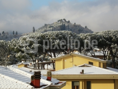 Winter im Chianti