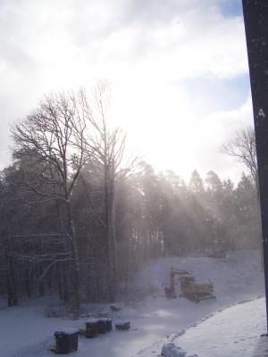 Sonnenaufgnag im Winter