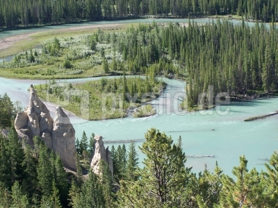 Bow River bei Banff