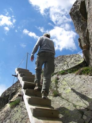 Aufstieg zum Bettmerhorn-Gipfel / 2