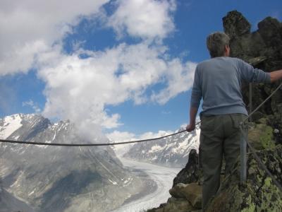 Aufstieg zum Bettmerhorn-Gipfel / 3