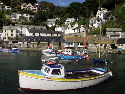 Gruß aus Cornwall : Fischerort Polperro #5