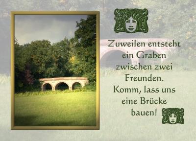 Aira's Postkarten - Freunde......