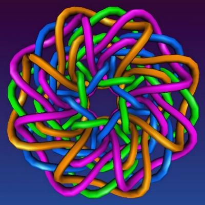 Fraktal in Pastell - 123b
