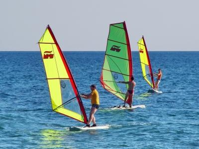 Surfen an der Adria