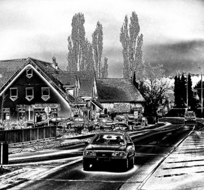 Landstrasse bei Dechsendorf