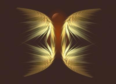 Aira's Fractal Art - Engel des Erdelements