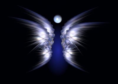 Aira's Fractal Art - Engel des Wasserelements