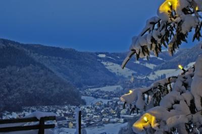 Bergweihnacht in Münstertal Schwarzwald