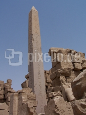 Obelisk im Karnak-Tempel Ägypten