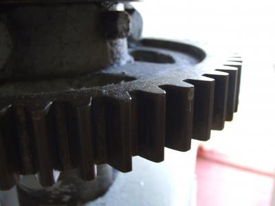 Altes Zahnrad / Old wheel