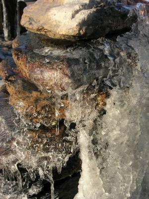 Vereister Brunnen