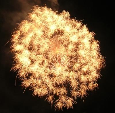 Feuerwerk in Völklingen