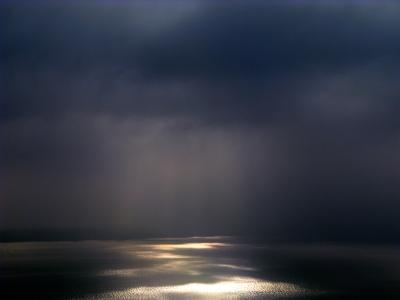 Nebel am Lac Léman
