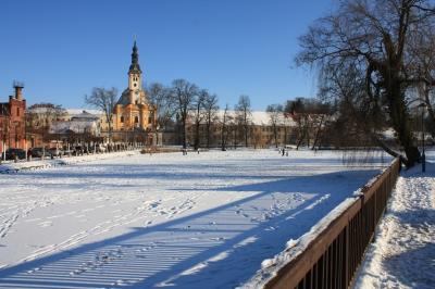 Kloster Neuzelle im Winter