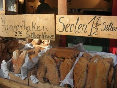 Brote auf alte Art