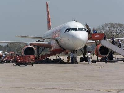 Flughafen Varanasi Indien