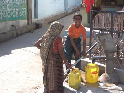 Menschen in Indien 10