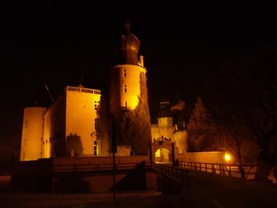 Burg Gemen im Abendlicht