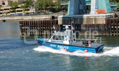 New Yorker Polizeiboot