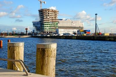 Grasbrookhafen vom Dalmannkai