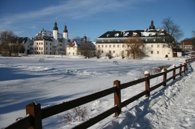 Wintertag am Schloss Blankenhain