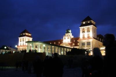 Kurhaus Binz am Silvesterabend