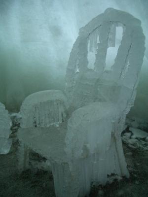 Stuhl der Eisprinzessin