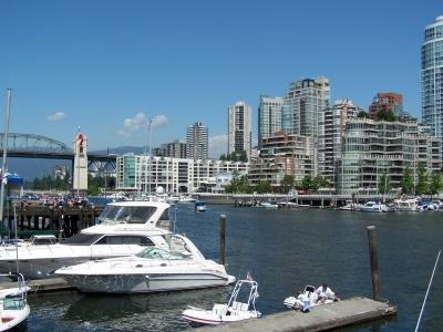 Vancouver Innenhafen