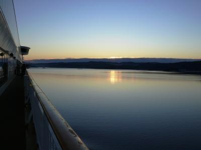 Oslofjord_Sonnenuntergang