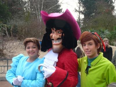 Wendy , Capt.Hook und Peter Pan