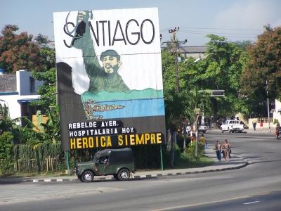 Santiago de Cuba-Revolutionsstadt