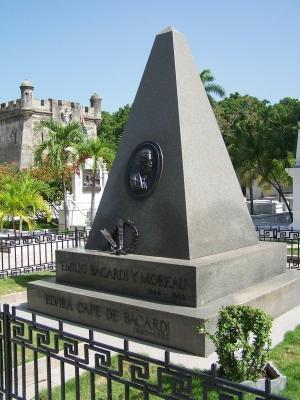 Bacardi-Grab Kuba