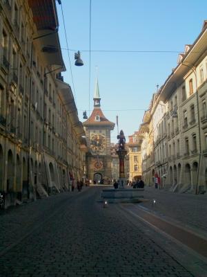 Berner Altstadt mit Zytgloggeturm