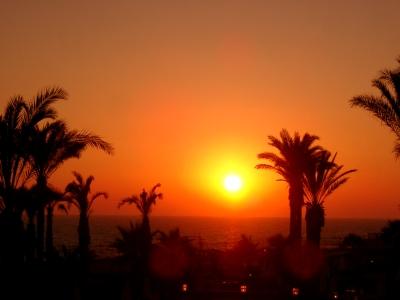 Sonnenuntergang auf Zypern/Paphos