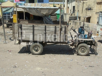 Indischer Lastwagen