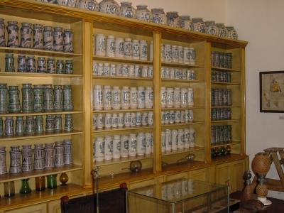 alte Apotheke in Santa Domingo