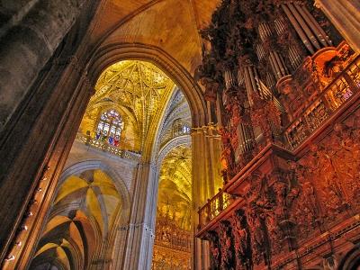 Kathedrale von Sevilla mit Orgel_2