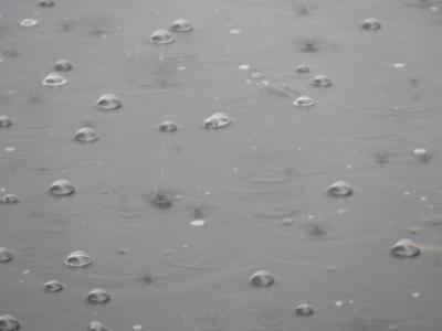 Regen-Regentropfen