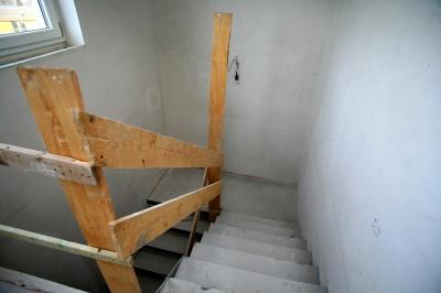 Rohbau Treppenhaus